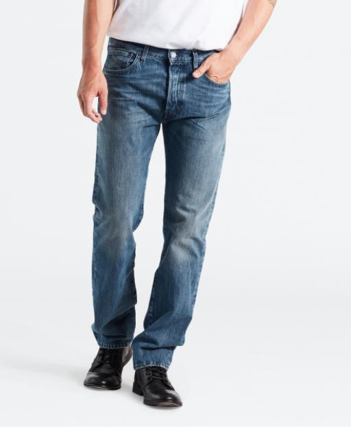 501 Jeans warp stretch 15oz