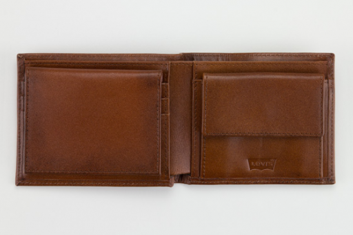inlay bifold clean finish wallet
