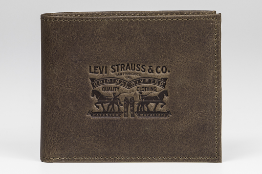 two horse classic coin wallet