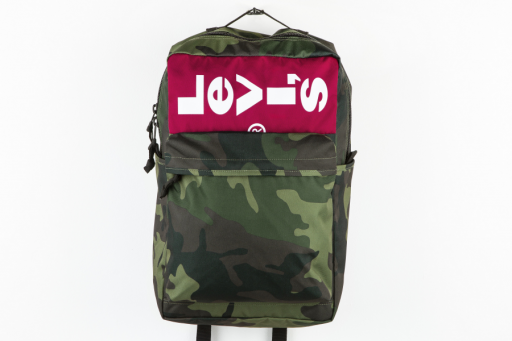 L-series printed camo backpack