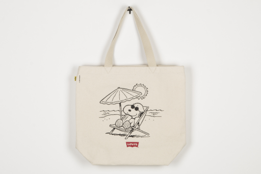 peanuts snoopy beach tote