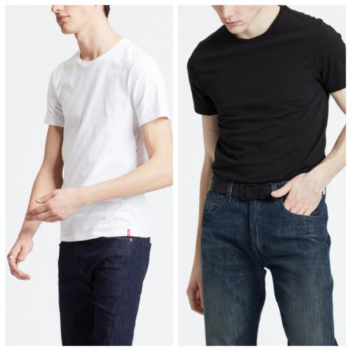 2-pack slim crewneck t-shirt