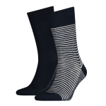 168sf regular cut stripe 2-pack sock