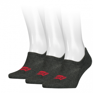 high rise batwing logo 3-pack footie