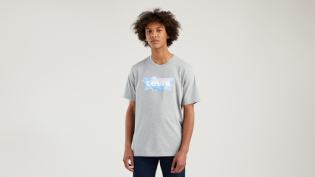 batwing clouds relaxed fit t-shirt