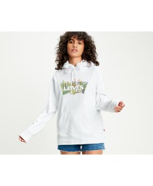 cactus batwing hoodie