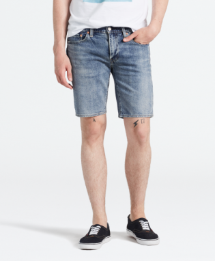 511 slim hemmed short 14oz