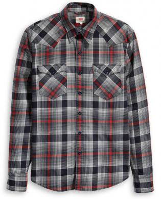l/s barstow western stretch shirt
