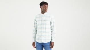 l/s sunset 1 pocket standard shirt