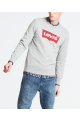 brush batwing sweatshirt
