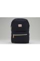 canvas zip top backpack