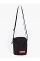 mini red batwing crossbody