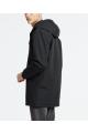 hooded coach jacket