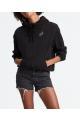 corporate logo floral hoodie