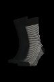 168sf regular cut stripe 2-pack sock