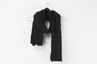 lofty cable scarf
