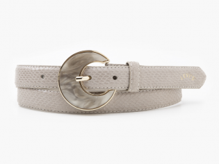 pearl snake woman belt