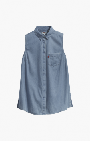 sleevless coralie shirt