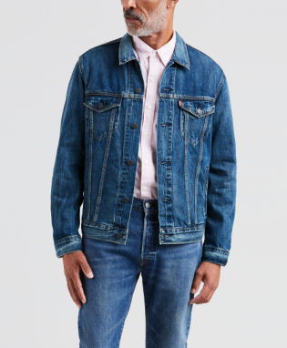 trucker denim jacket